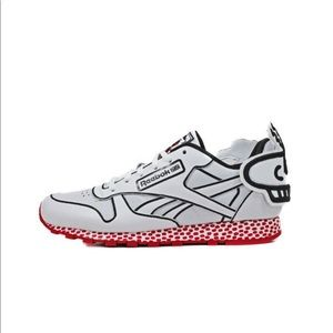 "REEBOK Classic Leather Lux ""Keith Haring"" Sneakers"